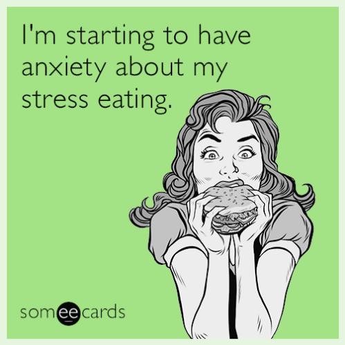 Stress eating